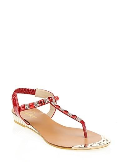 Rosee Sandalet Kırmızı